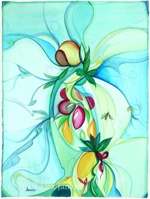 Fruit Valley Composition, Kelowna Series
