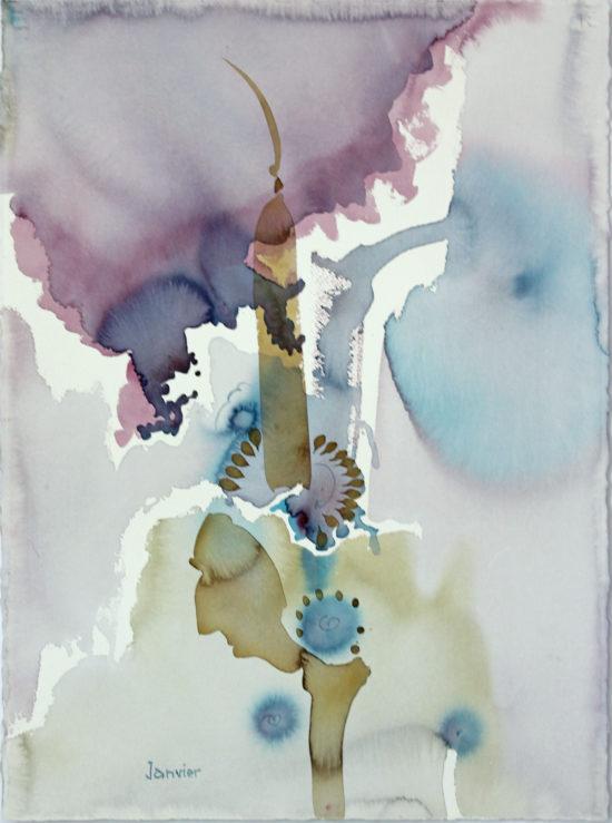 Primrose Lake Sand Paintings No. 8
